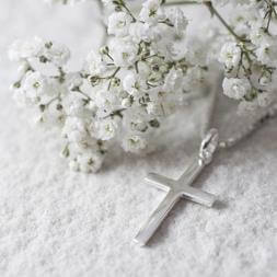 Personalised Cross Necklace