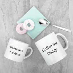 Personalised Daddy & Me Mugs