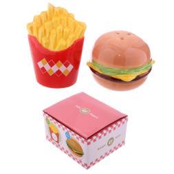 Burger And Chips Salt And Pepper Set