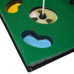 PGA Tour 6ft Mat And Collapsible Putter
