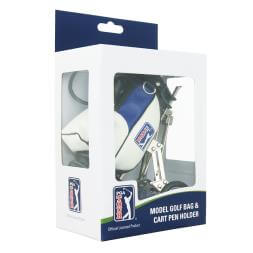 Model Golf Bag And Cart Pen Holder