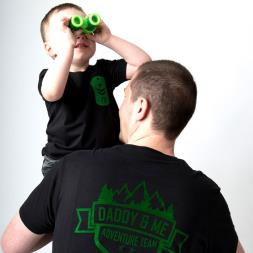 Daddy And Me Adventure Team T-Shirt Set