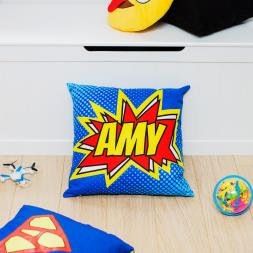 Personalised Comic Cushion