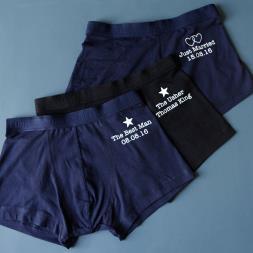 Personalised Groomsmen Underwear