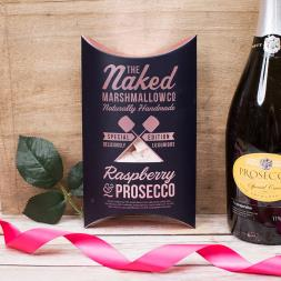 Raspberry & Prosecco Marshmallows