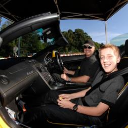 Junior Supercar Driving Thrill with Passenger Ride