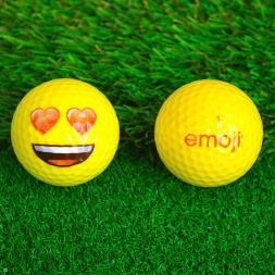 Emoji Golf Balls - Pack Of Six