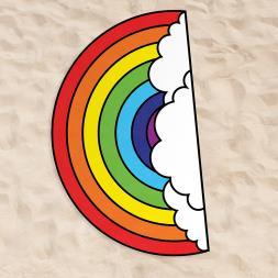Rainbow Beach Towel