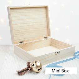 Personalised Snowflake Wreath Christmas Eve Box