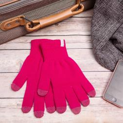 Smartphone Gloves - Small Pink