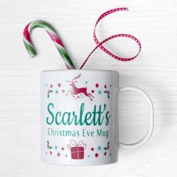 Personalised Children's Christmas Eve Mug