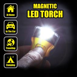 Magnetic LED Torch