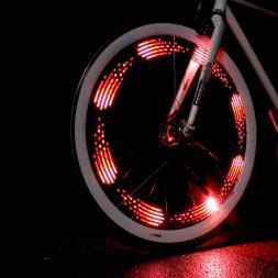 MonkeyLectric 80 Lumens Animated Bike Wheel Lights