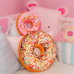 Doughnut Sprinkles Cushion - Large