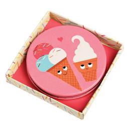 Ice Cream Friends Compact Mirror
