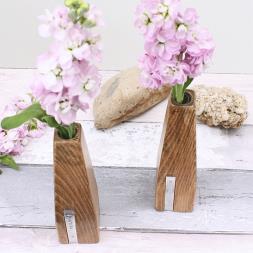 Personalised Beech Vases