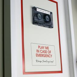 Personalised In Case Of Emergency Mix Tape