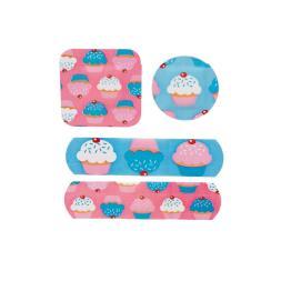 Cupcake Plasters