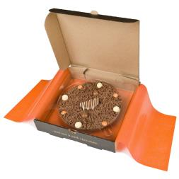 Chocolate Pizza - Ultimately Orange - 10""