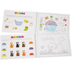 Personalised Colour In Activity Book - A3
